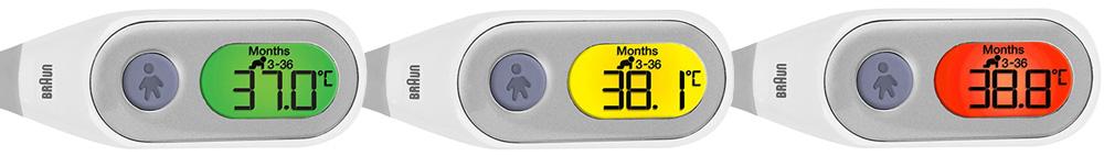 termometro otico braun